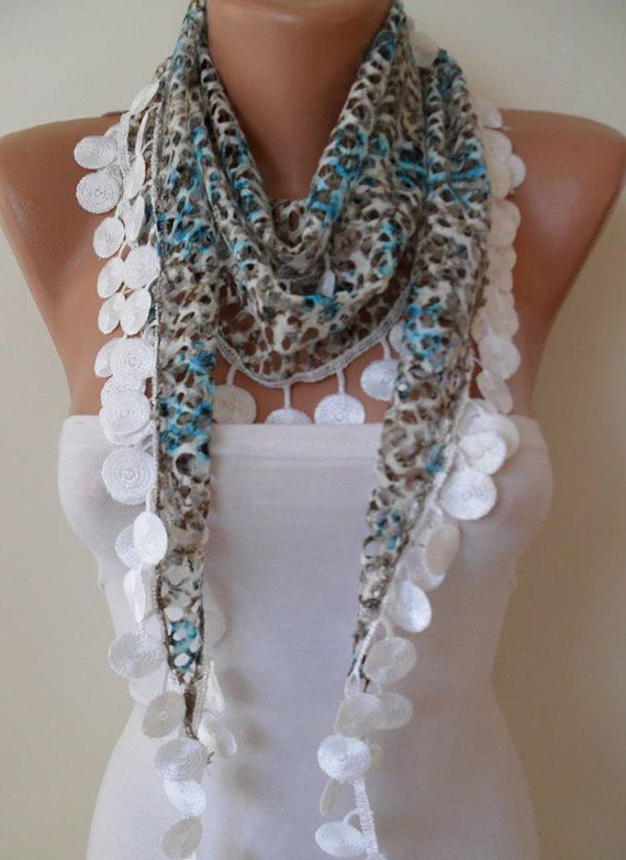 SALE  Perforated Fabric  Blue Grey White Spring by SwedishShop, $13.90  Is this like the cutest scarf, or what ?: Sales Perforated, Cutest Scarfs, Spring Scarfs, Grey White, Trim, Fabrics Blue, Blue Grey, Perforated Fabrics, Dresses 101