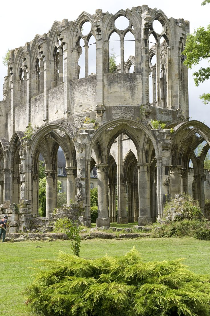 Ruins of the Abbey of Notre Dame (Oise), Chiry-Ourscamp, France, 12th century