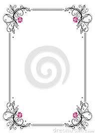 Image result for marcos bonitos para word