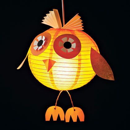 Owl Craft Tutorials for Halloween