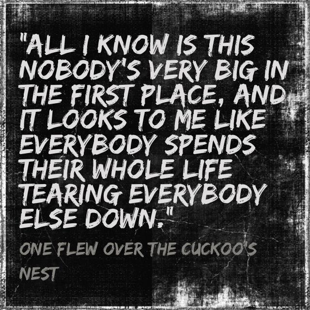 one flew over the cuckoos nest mental illness essay