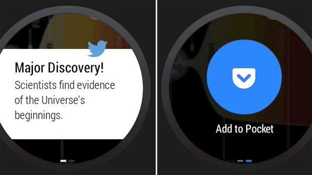 Pocket app for Android Wear lets you save an article for later | Google's smartwatch ecosystem is already attracting developers thanks to its close ties with the similar mobile platform. Buying advice from the leading technology site
