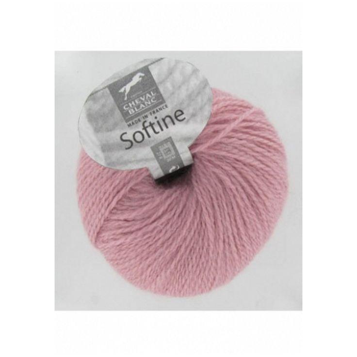 Pelote de laine Softine Cheval Blanc, Softine pas cher, Sperenza Laine, boutique de laine et mercerie