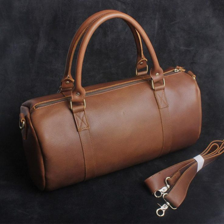 Overview: Design: Genuine Leather Mens Bucket Bag Cool Weekender Bag Travel Bag Duffle Bags Overnight Bag Holdall Bag for menIn Stock: Ready to Ship(2-4 days)