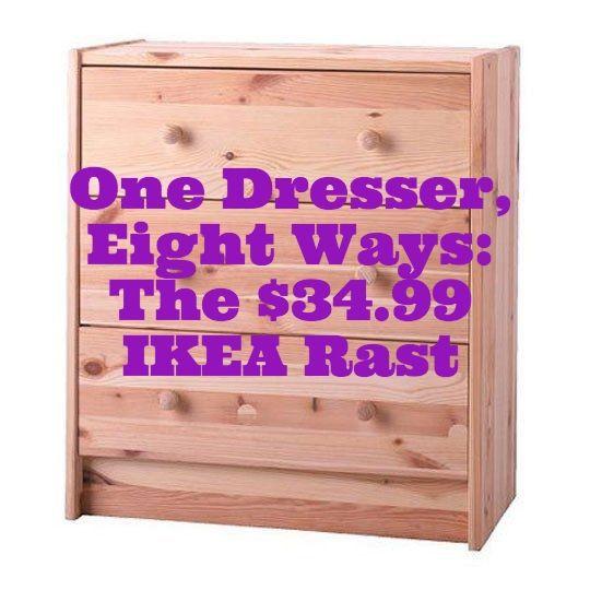 One Dresser, Eight Ways: The Endlessly Adaptable IKEA Rast