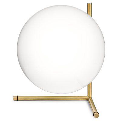 Flos IC T2 bordslampa, mässing -Roomly.se