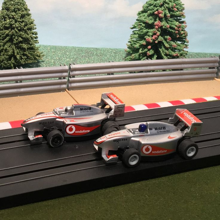 Now available in our store: Micro Scalextric ... Check it out here http://www.actionslotracing.co.uk/products/micro-scalextric-pair-of-1-64-cars-f1-formula-one-vodafone-1-3?utm_campaign=social_autopilot&utm_source=pin&utm_medium=pin