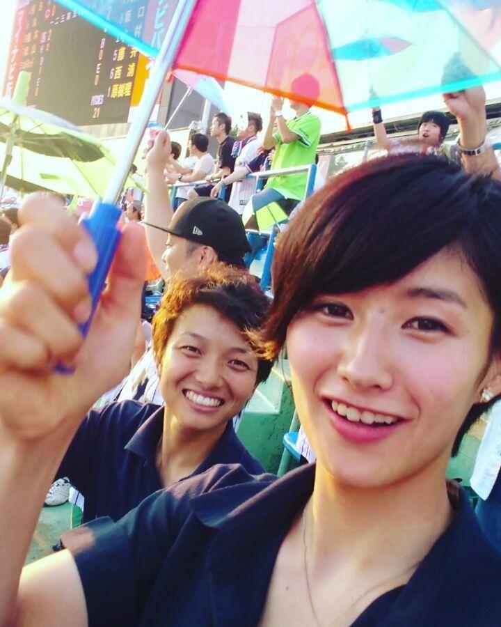 いいね!426件、コメント13件 ― Yu Katoさん(@y_k_9_jwbl)のInstagramアカウント: 「_ 神宮、外野席で初観戦。 まわりのヤクルトファンの 皆さんと仲良くなって 7月17日の神宮見に行くよ! と沢山の方に言っていただき 嬉しかったです^^ 山田哲人選手の先制ホームラン…」