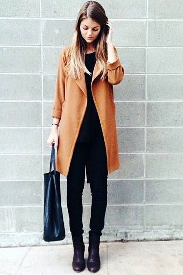 Must Wear Fall Outfits With Boots (38)