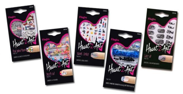 Nail #Heart2Art e Fing'rs Prints!, decorazioni e unghie artificiali firmate #Fingrs  @fingrs