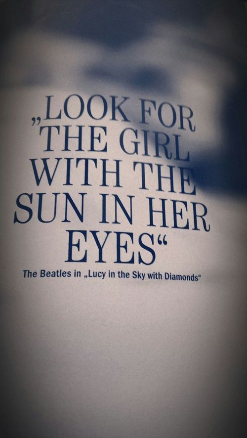 lucy in the sky with diamonds / the beatles