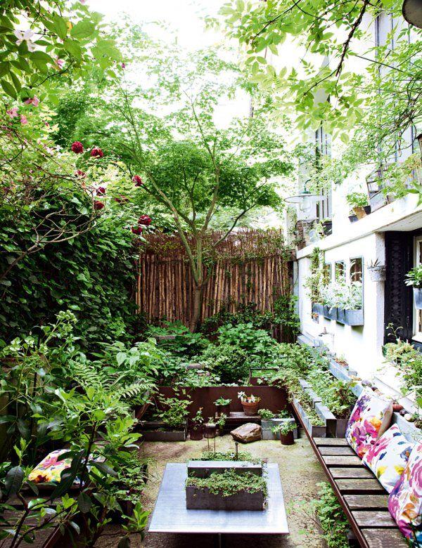 1000 id es sur le th me petits jardins sur pinterest design de petit jardin jardinage et - Terrasse jardin pinterest strasbourg ...