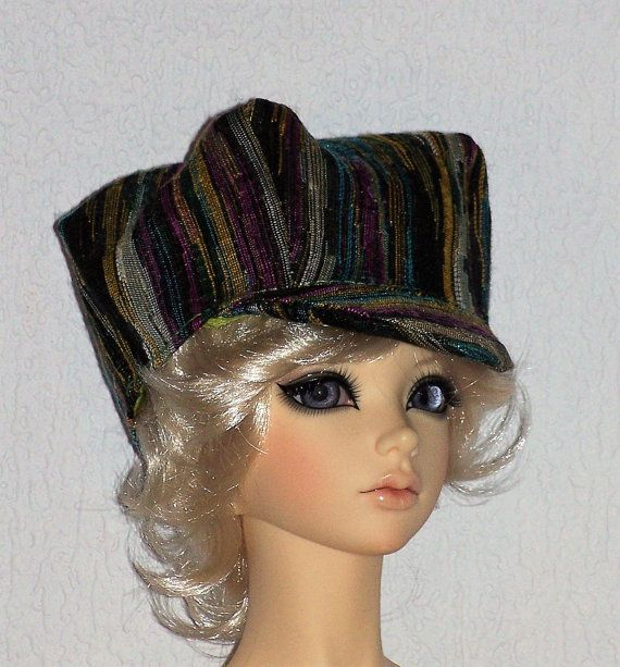 Gavroche Titi Parisien Cap for BJD Dolls and all par latelierderosy