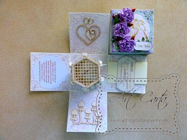 Art-Carta : Zielono-fioletowy ślub