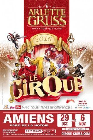 Le cirque Arlette Gruss à Amiens