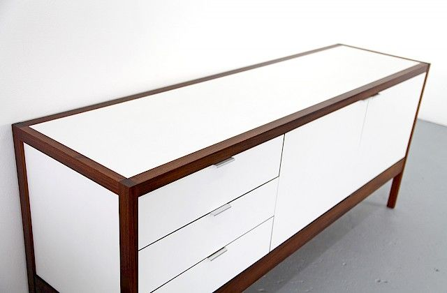 Rosewood and Resopal Sideboard from 3. Series by Dieter Waeckerlin for Idealheim - Made in Switzland_Gallery