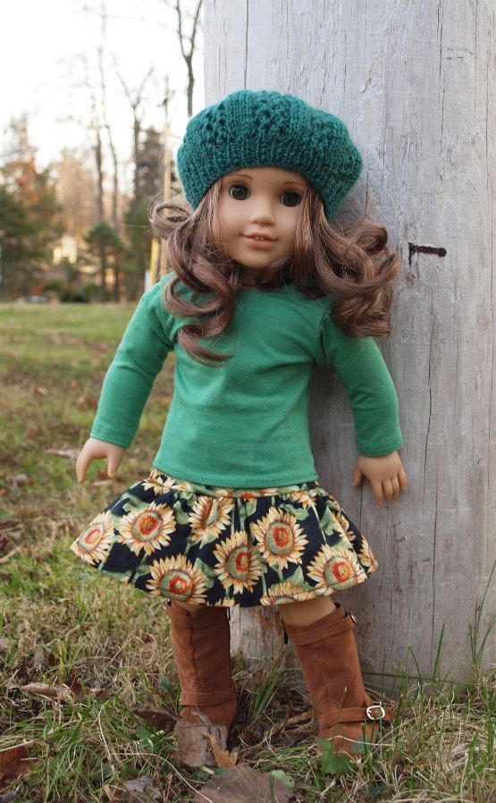 18 inch Doll Clothes American Girl Dolls by AbygailElizabeth, I wish I saw this when I was little!