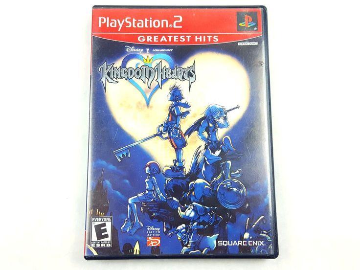 UncleZekes.com - Kingdom Hearts Greatest Hits Sony PlayStation 2 2003
