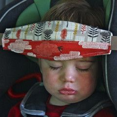SlumberSling - Holds kids heads while napping in the car seat.