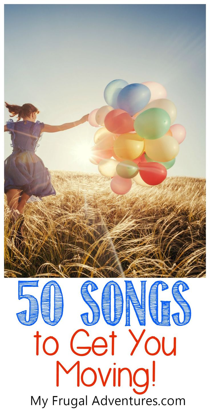 50 songs to get you moving