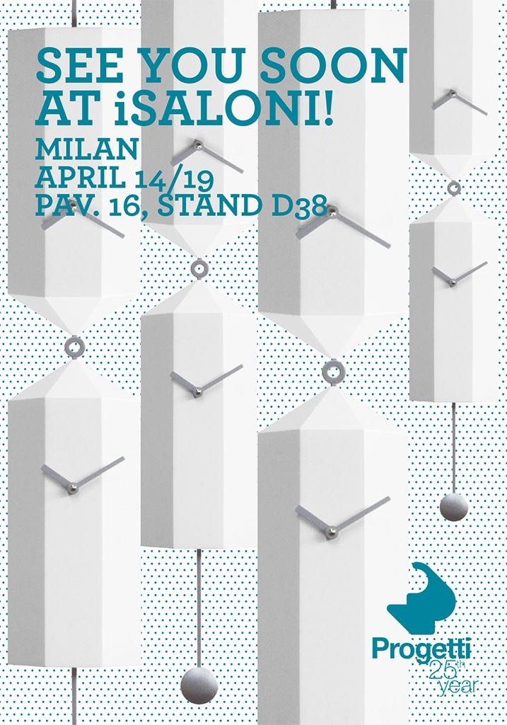 See you soon at iSaloni - www.iprogetti.eu