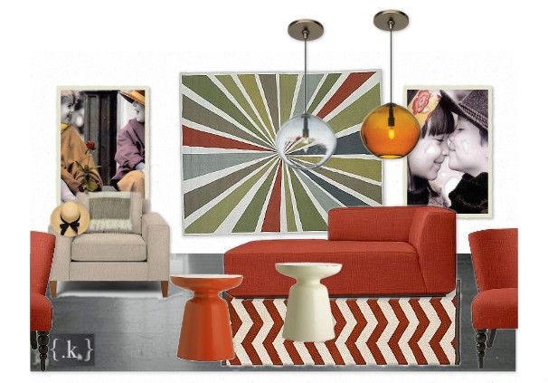 The West Elm Living Room