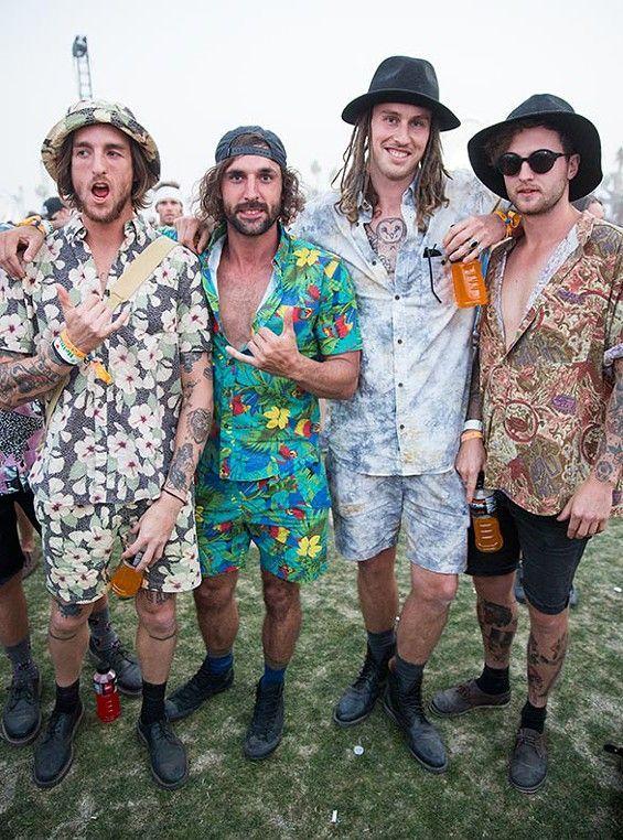 Coachella Festival Guys In 2019 Fashion Festival Outfits