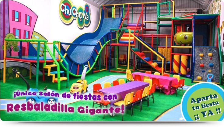ChuChuWa | Salón de Fiestas Infantiles al Sur de la Ciudad de México