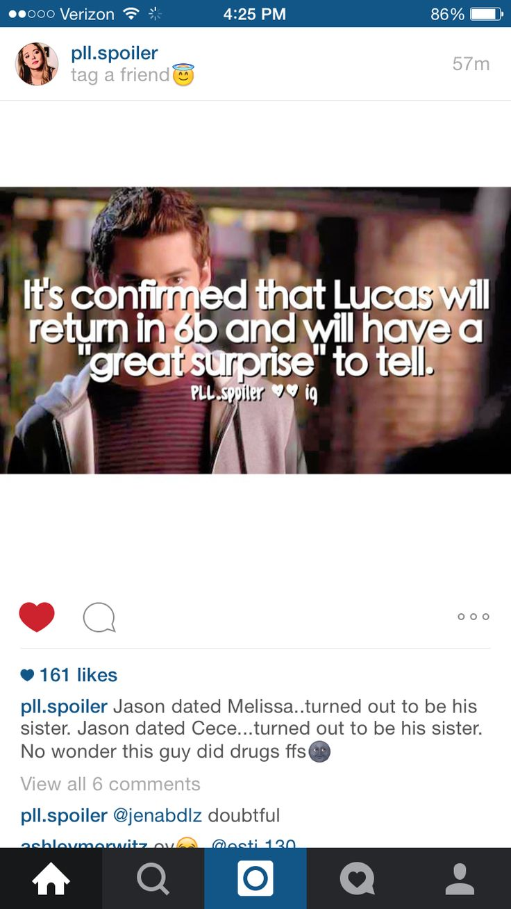 He had to be involved with Cece!! Along with Melissa and Wren!