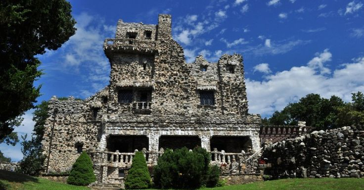 There are several castles you can see without leaving the United States.