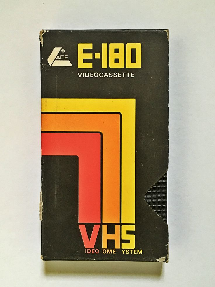 ACE Videocassette front
