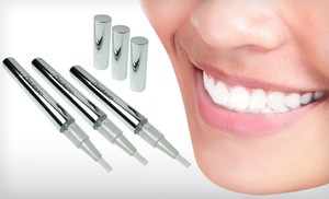 Groupon - $16 for Three Dazzle Pro Teeth-Whitening Pens ($87 List Price). Free Shipping and Free Returns. in Online Deal. Groupon deal price: $16.00