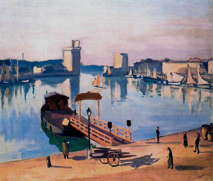 Albert Marquet (French, 1875-1947) > La Rochelle, 1920