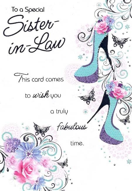 28 best Happy birthday sister n law images – Birthday Cards Images and Graphics