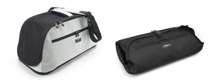 Nice design pet carrier - Sleepypod Air - Airline Approved Pet Carrier. Alternative to the SturdiBag that I have for my cat.