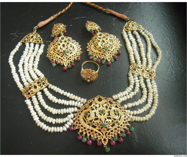 Traditional jewellery.
