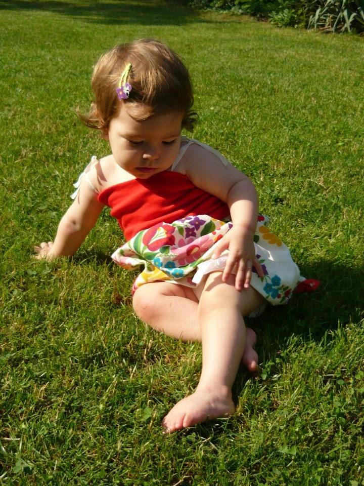 4az 1ben Varázsruha - ruha verzió/4in1 Multifunctional baby dress - as a dress here