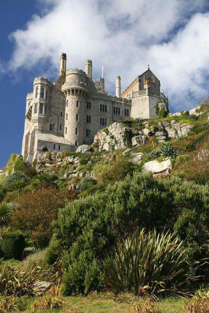 St. Michael's Mount Castle, Marazion, Cornwall, England
