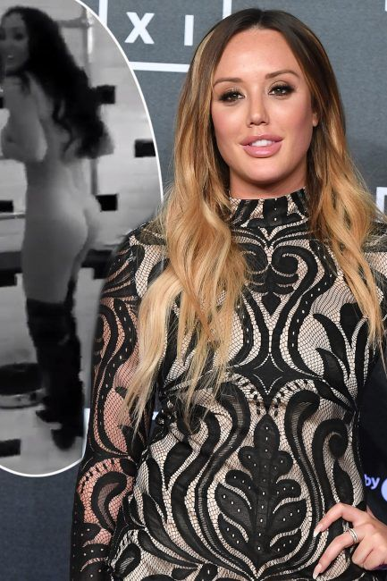 Charlotte Crosby shocks as she poses completely NAKED except for a pair of over-the-knee boots  after Stephen Bear split