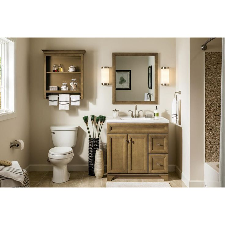 Shop Diamond Hanbury Tuscan Traditional Poplar Bathroom