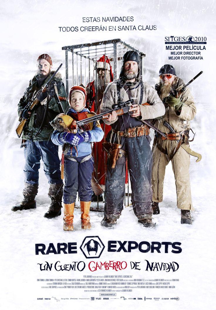Rare exports [Material gráfico] : un cuento gamberro de Navidad /Director, Dennis Lee.-- Finlandia : [s.n.], 2010. 1CAR/57