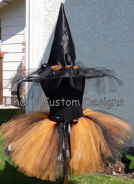 Witch Costume for Toddlers Girls Teens or by sweethearttutus, $72.00