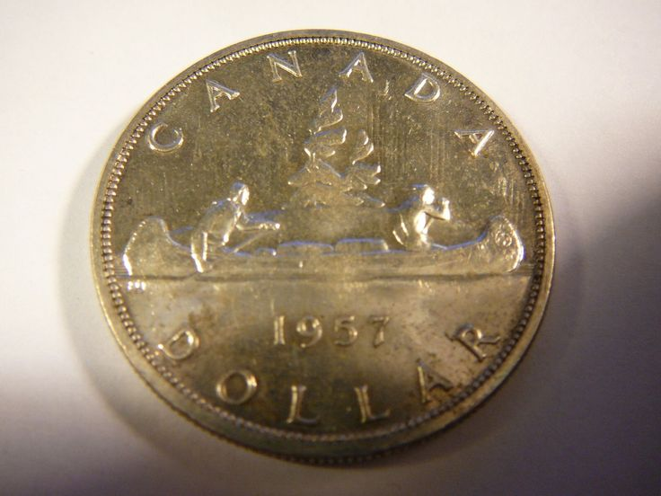 Item specifics     Circulated/Uncirculated:   Uncirculated       CANADA 1957 SILVER DOLLAR  Price : $20.00  Ends on : 2 weeks Order Now