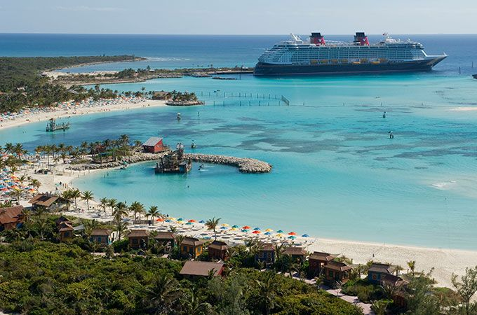 Disney's Castaway Cay- Consistently rated by Disney Guests as their favorite port of call, Castaway Cay is Disney's private island paradise reserved exclusively for Disney cruisers.