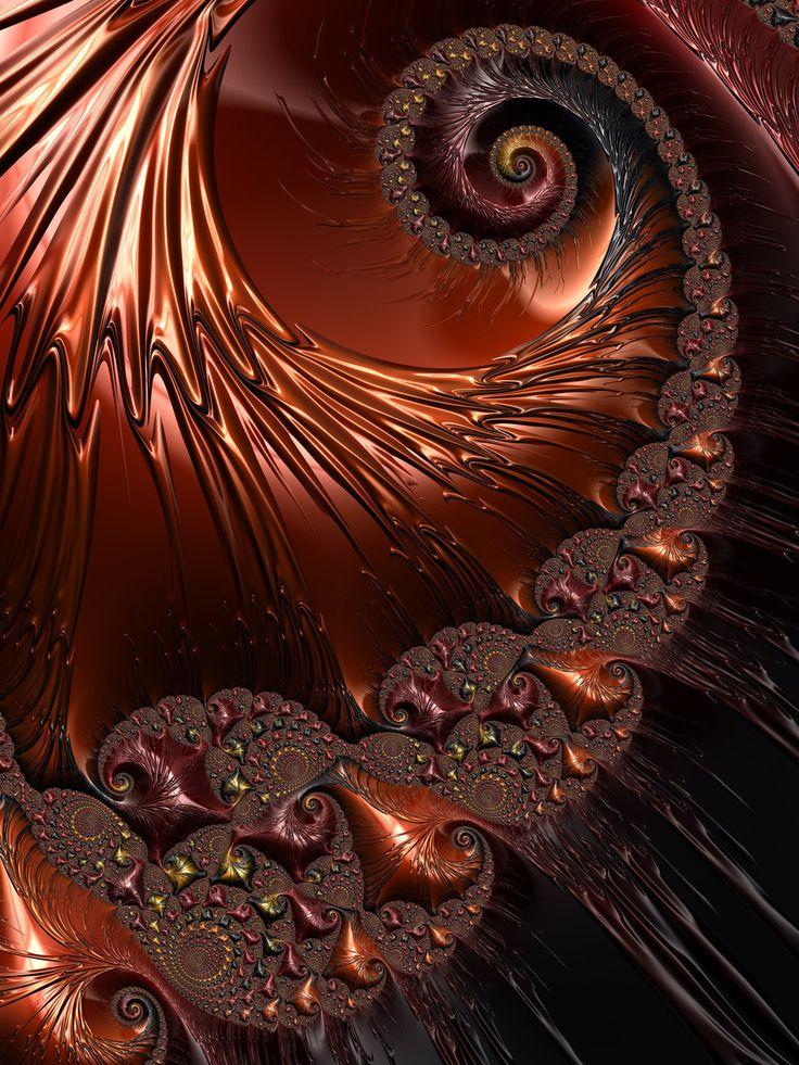 Copper Spiral by theslider.deviantart.com on @DeviantArt