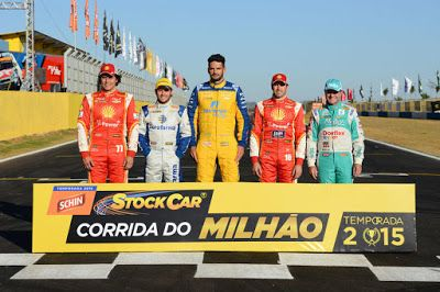 #Brasil: Thiago Camilo confirmado na Corrida do Milhão em G...