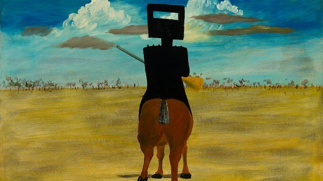 Ned Kelly (1946) by Sidney Nolan