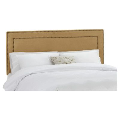 Rufus Upholstered Panel Headboard Size: California King - http://headboardspot.com/rufus-upholstered-panel-headboard-size-california-king-649658696/