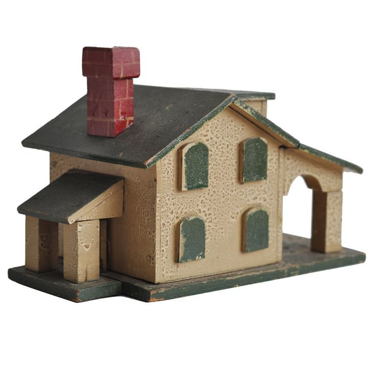 10 best images about wooden house models on pinterest for Mini wooden house