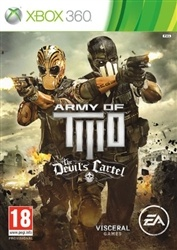 Out now!  Army of Two The Devil's Cartel Xbox 360.  $60.98 delivered!